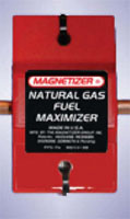 Magnetizer Natural Gas Fuel Maximizer